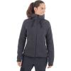 Mammut Women's Arctic ML Hooded Jacket - Large - Phantom / Black Melange