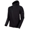 Mammut Men's Macun Softshell Hooded Jacket - Large - Highway