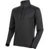 Mammut Men's Nair ML Half Zip Pullover - Small - Black MTlange