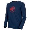 Mammut Men's Logo LS T-Shirt - Medium - Peacoat