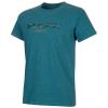 Mammut Men's Sloper T-Shirt - Medium - Sapphire Melange Prt3