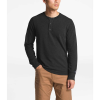 The North Face Men's TNF Terry LS Henley - XXL - TNF Dark Grey Heather