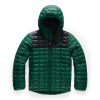 The North Face Boys' ThermoBall Eco Hoodie - XS - Night Green