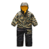 The North Face Toddlers' Insulated Jumpsuit - 3T - British Khaki Mini Waxed Camo Print
