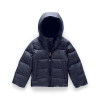 The North Face Toddlers' Moondoggy Down Jacket - 6T - Montague Blue Denim Print