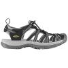 Keen Women's Whisper Shoe - 8.5 - Black / Neutral Grey