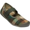 Keen Women's Sienna MJ Plaid Shoe - 6.5 - Brown / Climbing Ivy
