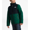 The North Face Youth Balanced Rock Insulated Jacket - Medium - Night Green