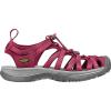 Keen Women's Whisper Shoe - 5 - Beet Red / Honeysuckle