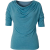 Royal Robbins Women's Noe Elbow Top - Large - Frost Blue