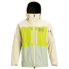 Burton Men's [ak] GTX Swash Jacket - Small - Almond Milk / Tender Shoots / Aqua Grey