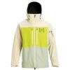 Burton Men's [ak] GTX Swash Jacket - XL - Almond Milk / Tender Shoots / Aqua Grey