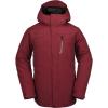 Volcom Men's L Gore-Tex Jacket - Medium - Burnt Red