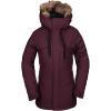 Volcom Women's Shadow Insulated Jacket - Small - Merlot