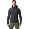 Mountain Hardwear Men's Keele Hybrid Hoody - Large - Dark Storm