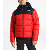 The North Face Boys' Moondoggy 2.0 Down Hoodie - XS - Fiery Red