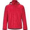 Marmot Men's PreCip Eco Jacket - Large - Team Red