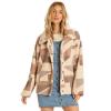 Billabong Women's Cozy Days Jacket - Large - Neutral