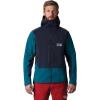 Mountain Hardwear Men's Exposure/2 GTX Pro Jacket - XL - Dark Zinc