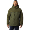 Mountain Hardwear Men's Summit Shadow GTX Insulated Jacket - Small - Dark Army