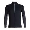 Icebreaker Men's Tech Trainer Hybrid Jacket - Large - Black / Jet Heather