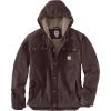 Carhartt Men's Washed Duck Bartlett Jacket - 4XL Tall - Dark Brown