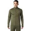 Mountain Hardwear Men's Type 2 Fun Full Zip Jacket - Large - Dark Army