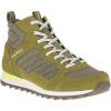 Merrell Men's Alpine Sneaker Mid Shoe - 7 - Olive