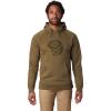 Mountain Hardwear Men's Hardwear Logo Pullover Hoody - Large - Combat Green