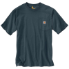 Carhartt Men's Workwear Pocket SS T Shirt - Small Regular - Bluestone
