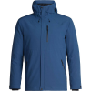 Icebreaker Men's Stratus Transcend Hooded Jacket - Medium - Prussian Blue / Jet Heather