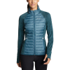 Eddie Bauer Motion Women's Ignitelite Hybrid Jacket - Small - Light Nordic Blue