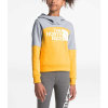 The North Face Girls' Metro Logo Pullover Hoodie - Medium - TNF Yellow