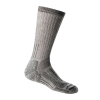 Icebreaker Women's Mountaineer Expedition Mid Calf Sock - Large - Natural / Monsoon Heather
