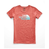 The North Face Women's Half Dome Tri-Blend Crew Tee - XS - Faded Rose Heather