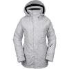 Volcom Women's Leda GTX Jacket - Medium - Heather Grey