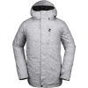 Volcom Men's L Insulated GTX Jacket - Medium - Heather Grey
