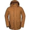 Volcom Men's Anders 2L TDS Jacket - Medium - Caramel