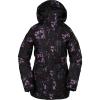 Volcom Women's Shelter 3D Strch Jacket - Medium - Black Floral Print