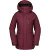 Volcom Women's Shelter 3D Strch Jacket - Medium - Scarlet
