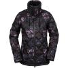 Volcom Women's Skies Down Insulator Jacket - Medium - Black Floral Print
