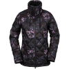 Volcom Women's Skies Down Insulator Jacket - Small - Black Floral Print