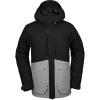Volcom Men's Scortch Insulated Jacket - Large - Heather Grey