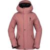 Volcom Women's Ashlar Insulated Jacket - Small - Mauve