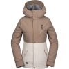 Volcom Women's Ashlar Insulated Jacket - Large - Sand Brown
