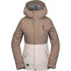 Volcom Women's Ashlar Insulated Jacket - Small - Sand Brown
