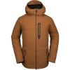 Volcom Men's Deadlystones Insulated Jacket - Large - Caramel