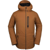 Volcom Men's Deadlystones Insulated Jacket - Medium - Caramel