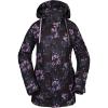 Volcom Women's Westland Insulated Jacket - Medium - Black Floral Print