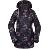 Volcom Women's Westland Insulated Jacket - Small - Black Floral Print